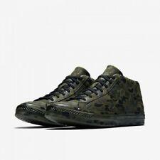 0a55b54b4f242 NEW Size 10.5 Converse One Star Mid Full Camo Camouflage Herbal Collard  Black