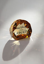 Swarovski Disney Title Plaque Lion King New in box