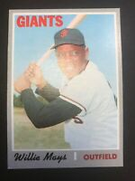 Willie Mays 1970 Topps Card. #600.