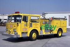 Fire Truck Photo Los Angeles LAX Yellow Seagrave Engine Apparatus Madderom