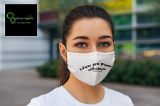 "FMA Face Mask ""Live at Peace"""