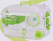 New Transparent Habitat Hamster Rodent Gerbil Mouse Mice Animal Cage 072