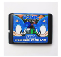 Sonic Eraser 16 bit MD Game Card For Sega Mega Drive For Genesis