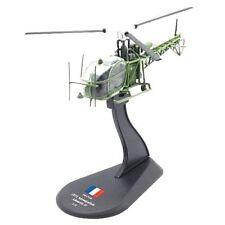 helicopter Aerospatiale Alouette II model diecast  1:72 metal