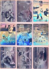 1990 LOONEY TUNES COMIC BALL 2 HOLOGRAM CHASE CARDS W/ PLAYERS