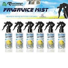 6 PACK TREEFROG TOP FRESH BLACK SQUASH SCENT FRAGRANCE MIST SPRAY AIR FRESHENER