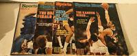 Vintage Sports Illustrated Lot Of Four, LA Lakers Kareem Abdul-Jabber.   Classic