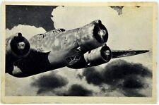 """Cartolina Aviazione - Partenza per La Missione Di Guerra Di Un Nostro """"Alcione"""""""