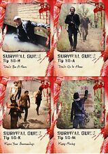 The Walking Dead Survival Box - Survival Guide Chase Trading Card Set