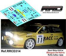 DECAL/CALCA 1/43; Seat Ibiza KitCar Blazquez-Del Barrio Rally Salou 1999