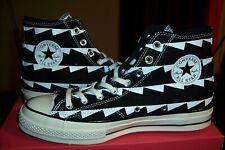 Converse All Star 70s High Top Black Zig Zag Men's Size 9  US NEW 1970 RETRO