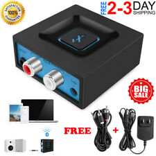 Bluetooth Audio Adapter Receiver For Music Streaming To Home Stereo Speaker Syst
