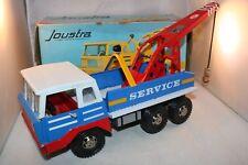 Joustra 698 Camion Depanneur tinplate breakdown truck very very near mint in box