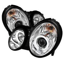 Mercedes Benz 98-02 CLK-Class CCFL Halo Projector Headlights Lamps CLK320 CLK430