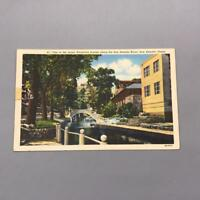 Vintage San Antonio Texas Unused Postcard mv