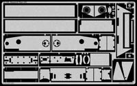 Eduard Accessories 35790 - 1:35 Zimmerit Tiger P - Ätzsatz - Neu