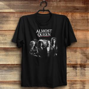 Almost Queen t shirt Freddie Mercury, John Deacon, Brian May, Roger Taylor