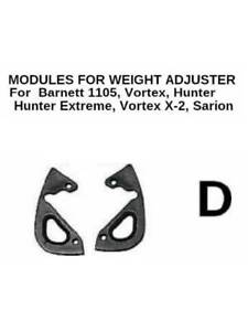 Archery Bow WEIGHT  CAM ADJUSTER Modules Type D for BARNETT