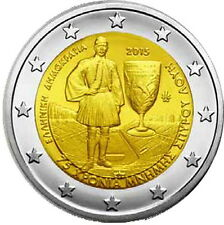 EUROS 2 € GRECIA/GRECE/GREECE/GRIECHENLAND - 2015 – SPIRIDON LOUIS SPYRIDON