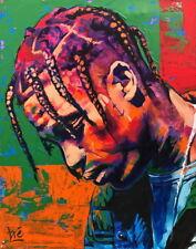 "014 Travis Scott - Rapper Rap HIPHOP Singer USA Star 24""x30"" Poster"