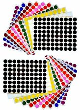 """1/2"""" Dot Stickers Color Coding Labels Round Office Marking Stickers 1760 Pack"""