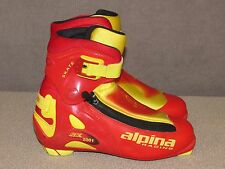 Alpina Racing Sk-2001 XC Cross Country Ski Boots NNN II Size Men's Size 39