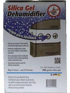 450 Gram Silica Gel Unit Desiccant (1 pack)