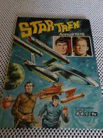 STAR TREK ANNUAL HC U.K. 1978 in Very Good condition.