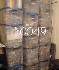Lego 100 Only BRICKS BLOCKS LOT Mixed Sizes Basic Building Pieces Bulk Mix