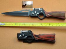 2018 LED AK-47 Messer 8.5cm Klinge Taschen Säbel-Messer-Geschenk mit Werkzeuge