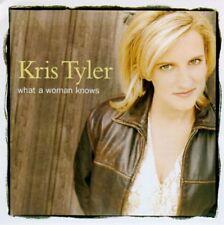 KRIS TYLER - WHAT A WOMAN KNOWS - CD SINGLE PROMO MONOTITRE boitier cristal1997
