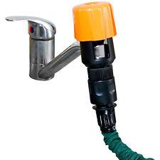Schlauchadapter: Universal-Wasserhahn-Adapter zum Anschluss von Gartenschläuchen