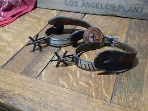 Antique / Vintage Handmade Weatern Spurs
