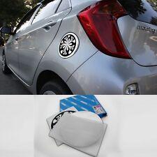 Chrome Fuel Oil Cover Molding Garnish  Fit: Kia All New Picanto 2011 2016