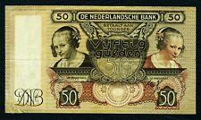 NIEDERLANDE. 50 Gulden 8.1.1941. P. 58.