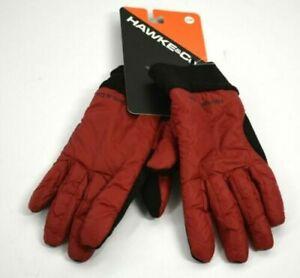 Hawke & Co Men's Lightweight Nylon Gloves Red S/M $48