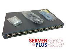 WS-C3560-48TS-S Cisco Catalyst 48 Ethernet 10/100 Ports 4 SFP Gigabit Ports