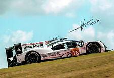Neel JANI Signed Autograph Photo D PORSCHE World Endurance Driver  AFTAL COA