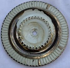 True Vintage Back Plate for Drawer Pull gold brass shabby white 1964 Canada