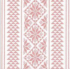 2 Serviettes en papier Décor Tissu Point de Croix Paper Napkins Cross stitch