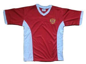 T-SHIRT Russia football  red sport jersey national team soccer