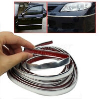 Applied 3m Chrome Self Adhesive Car Edging Styling Moulding Trim Strip 12mm 1 x