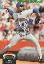 425  GENE HARRIS  SEATTLE MARINERS TOPPS BASEBALL CARD STADIUM CLUB 1992