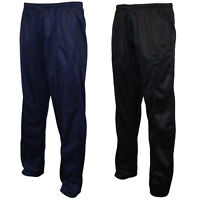 Mens Plain Silky Joggers Jogging Sweat Pants, Tracksuit Bottoms Jog Trousers
