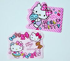 New 2pcs Cute For Hello Kitty Laptop Computer PC Mouse Pad Mat