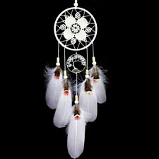 Indian Dream Catcher Handmade Tree of Life Dream Catchers with Feathers Wa S2U7