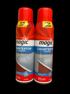 2-Pack of Magic Countertop Cleaner 17 oz Clean Shine Protect Remove Dirt Residue