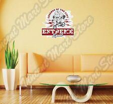 "City Legend Bike BMX Outdoor Extreme Wall Sticker Room Interior Decor 25""X22"""
