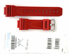 CASIO WATCH BAND: 10292803   BAND FOR  GLX-5600  RED