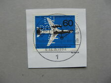 GERMANY BERLIN, stamp CTO FDC 1962, 50 years airmail, LUPOSTA perforation